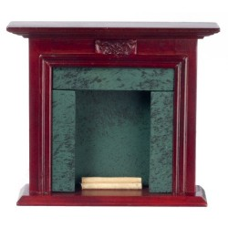 Fireplace/Mahogany