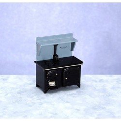 Wood Stove/black/cb