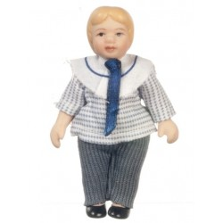 Porcelain Brother Doll