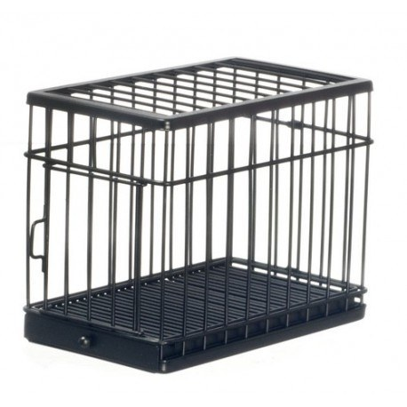 Large Dog Cage/black/cb
