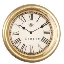 Sm.gold Wall Clock