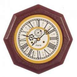 Octagon Wall Clock/paris