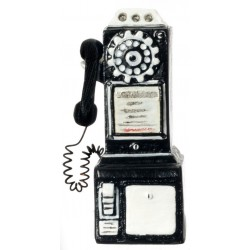 1950's Pay Phone/black