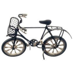 Child's Black Bicycle