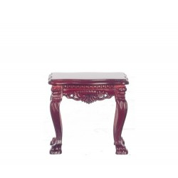 Lion Leg Side Table/Mahogany