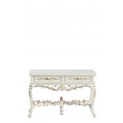 Barrington Side Table/wh/hp