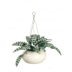 Hanging-Grn/Wht Leaves2 3/8