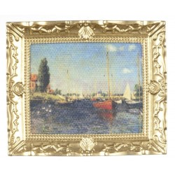 Monet Painting In Frame