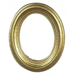 Oval Gold-tone Pic.frame