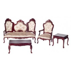 Rococo Living Room Set of 4