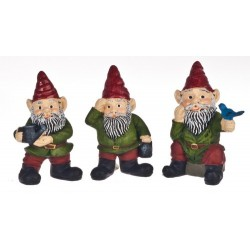 1 1/2in Gnomes/set/3