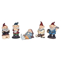 1 1/2in Gnomes/set/5