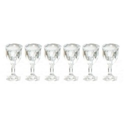 Cut Stemware/empty/set/6