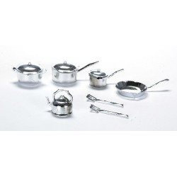 Pot & Pan Set/10 Pc