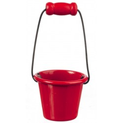 Red Metal Pail