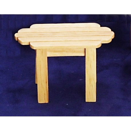 Adirondack Table/oak