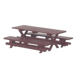 Picnic Table/2 Benches/rd