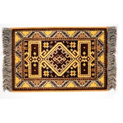 Kasak Rug/yellow/9 X 15*