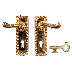 Knob/keyplate w/key/3pcs