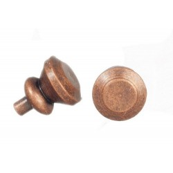 Round Knobs/6/bronze