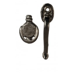 Door Handle/knocker/blk/2