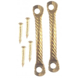 Dr.handle w/nails/2/brass