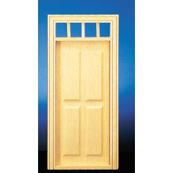 1/2in.4-panel Prehng Door