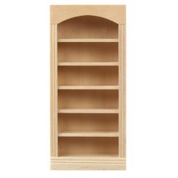 1/2in 5 Shelf Bookcase