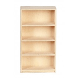 Basswood 1/24 Sc.bookcase