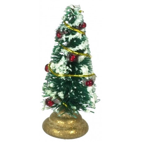 Mini Xmas Tree Dollhouse Christmas Miniatures Superior Dollhouse