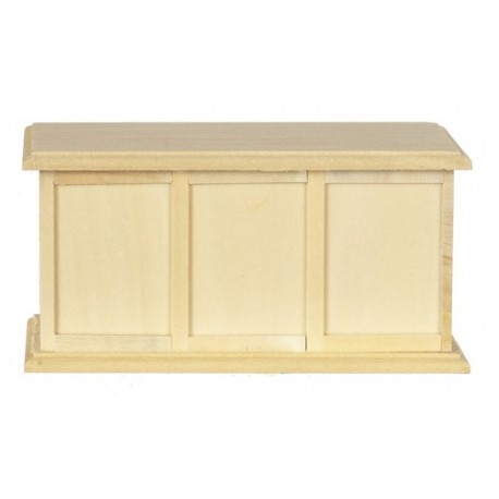 Store Counter Unfinished Dollhouse Unfinished Miniature Furniture Superior Dollhouse Miniatures