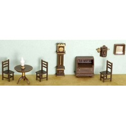 1/4 in. 9 pc Living Room Set