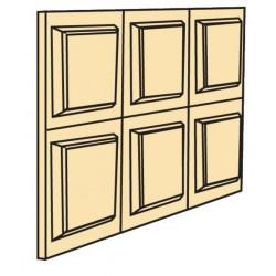 Dpb-32-6 Wainscot Panel