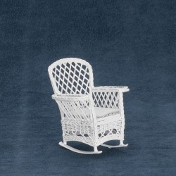 MAGAZINE ROCKER, WHITE