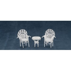 Patio Table w/2 Chairs/cb