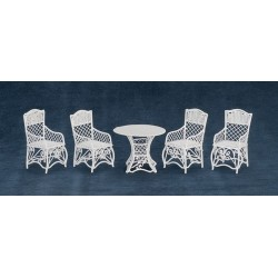 Round Table & Chair Set/5