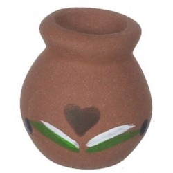 1in Clay Pot w/decal