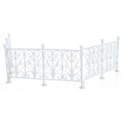 Wrought Iron Fence/wh/6pc