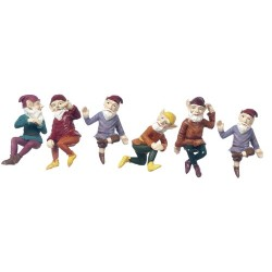 Medium Gnomes/3 1/2in Assorted - Playscale