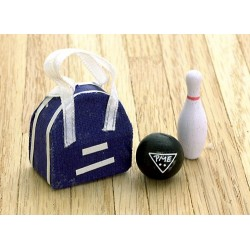 Bowling Ball/bag/pin