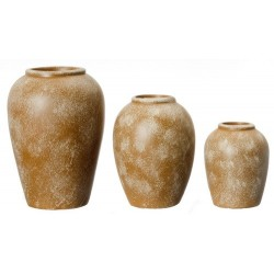Resin Patio Jars/3pcs