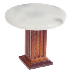 Round Marble Top Table/wa