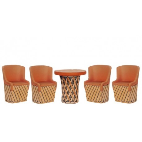 Mex.equipale Table Set/5