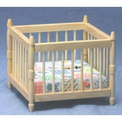 Playpen in Oak