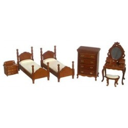 6 pc Twin Bedroom Set