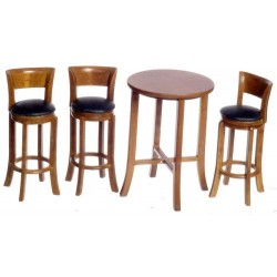 Tall Table w/3 Stools/wa