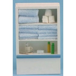 Linen Cupboard in Blue