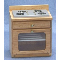 Kitchen Stove  Oak