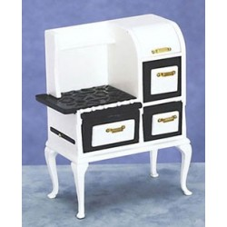 20'S Wooden  Stove  White