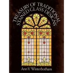TREASURY OF TRADITIONAL STAINED GLASS DE